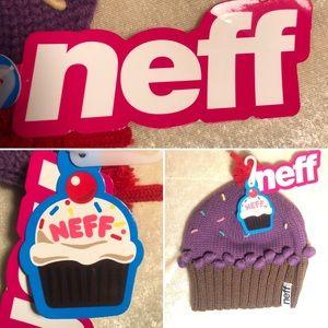 NWT Neff Knit Cupcake Beanie